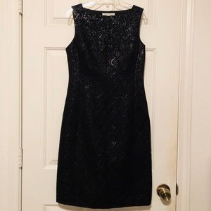 Banana Republic Black Sheath Dress Size 0 🖤